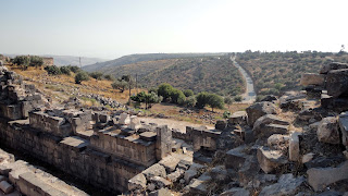 Fields of Umm Qais - from the Theater