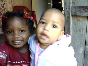 Adelainnis mi hija  y  Wander ( Sobrino)