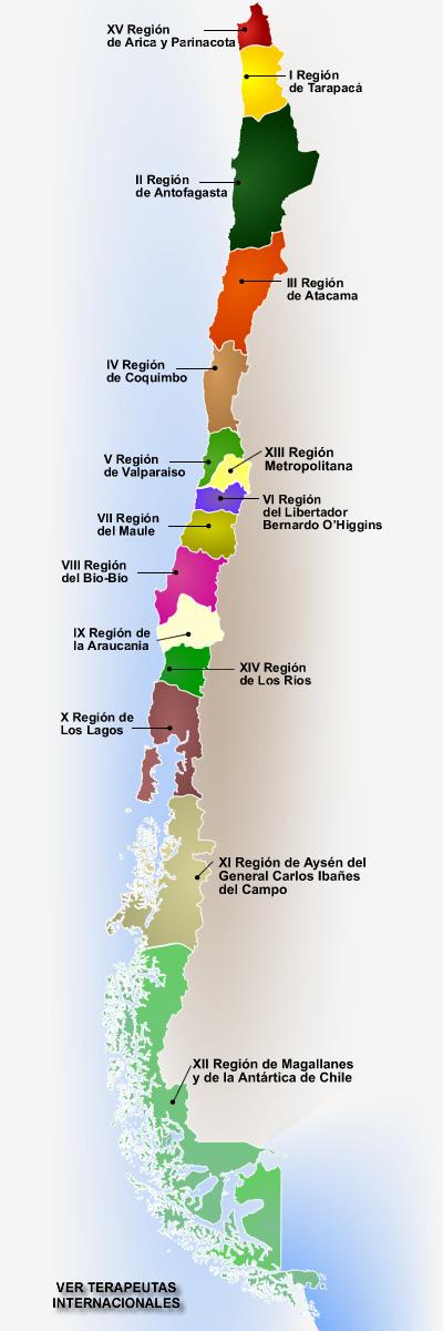 la más meridional es magallanes y de la antártica chilena