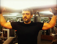 Actor Ajith Gym Workout