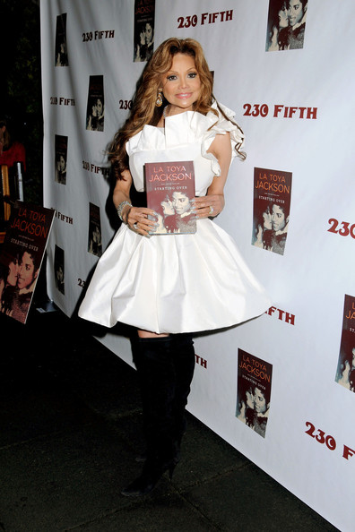 "LaToya Jackson Launches Her New Book: ""Starting Over"""