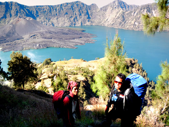 Rinjani mountain