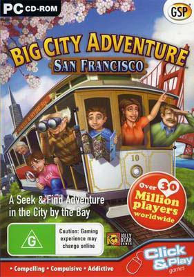 Big City Adventure - San Francisco cover