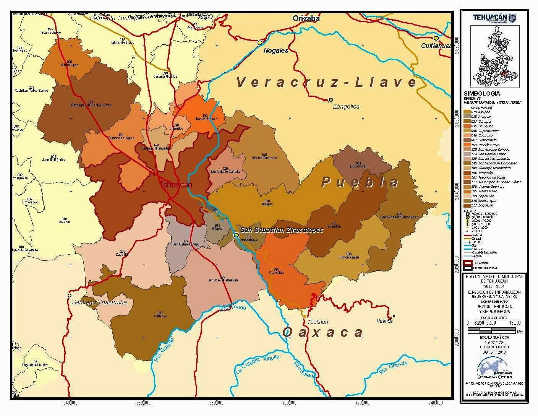 Tehuac 225 N Lugar De Dioses Datos Geogr 225 Ficos Y Demogr 225 Ficos