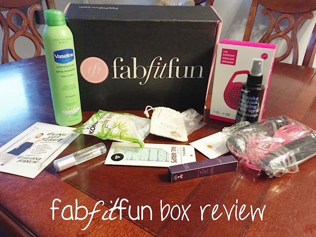 #fabfitfun box review #Fabfitfunmamas