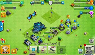Screenshots of the X-war: Clash of zombies for Android tablet, phone.