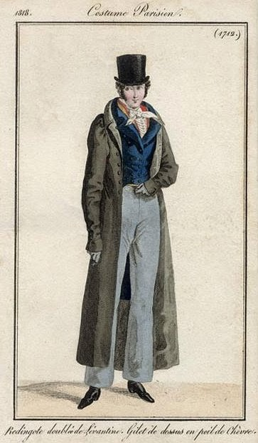 Costume Parisien 1818
