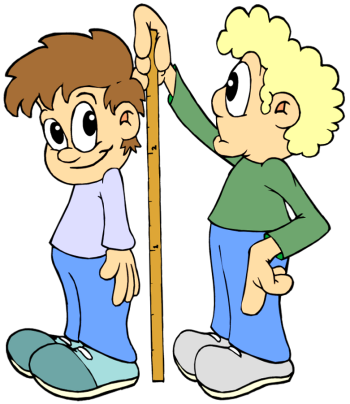 Measuring Weight Cartoon Ways To Get Taller: De...