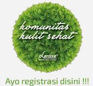 Form Pendaftaran member Komunitas Kulit Sehat Larissa (GRATIS)