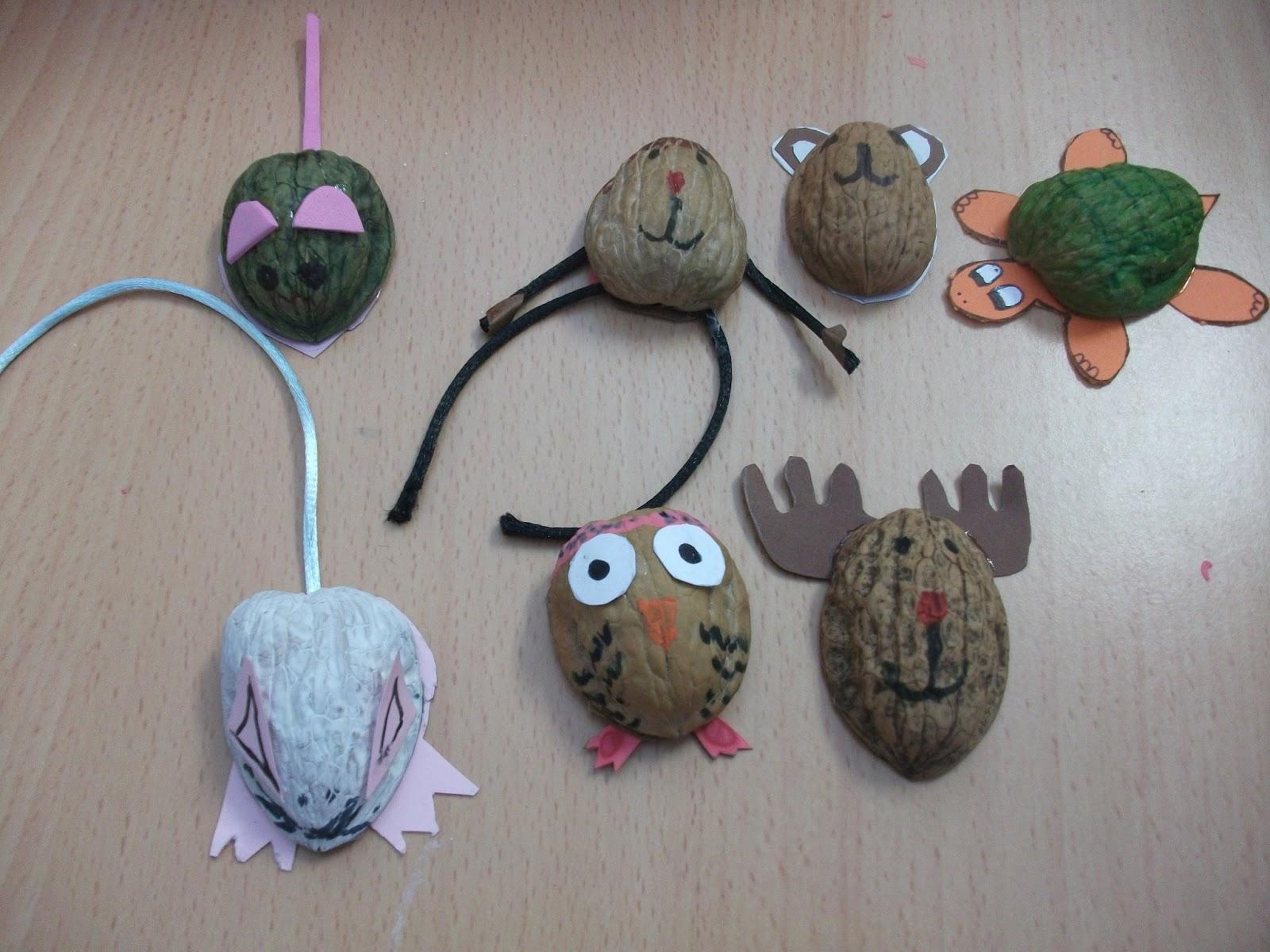 Blog de teo con c scara de nuez - Cascara nueces para decorar ...