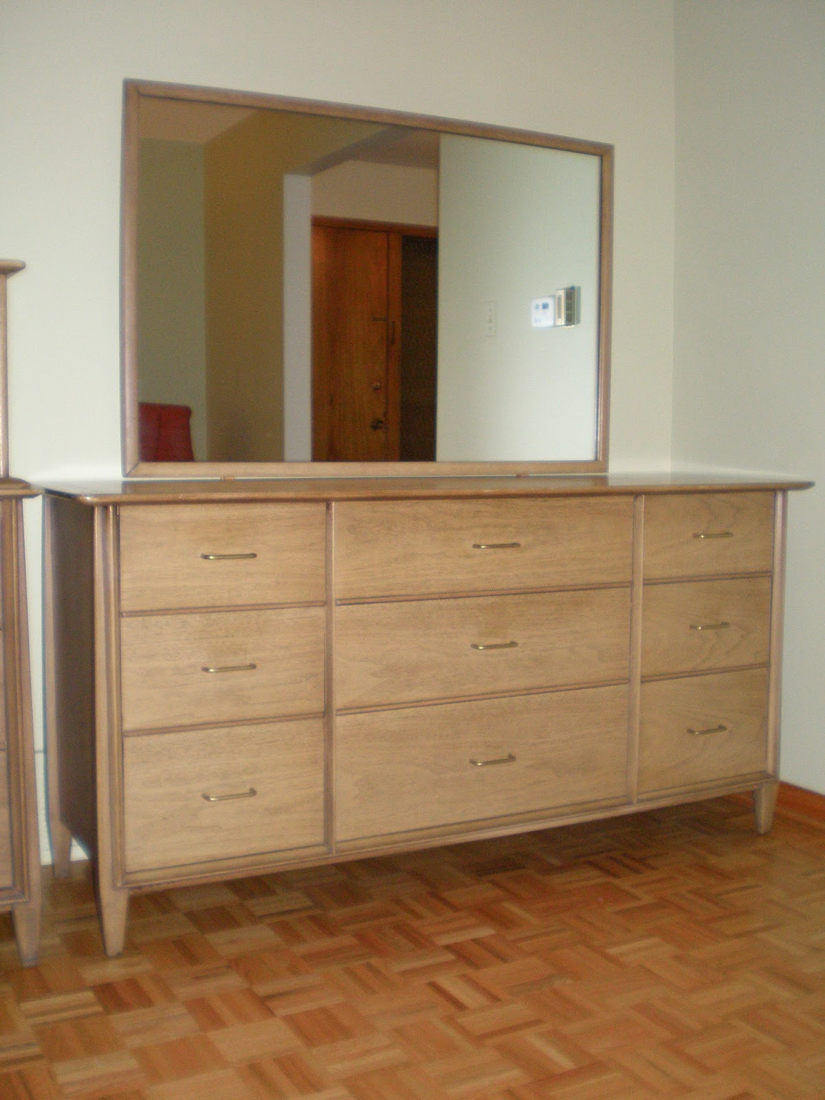 The Retrospective Modernist Kent Coffey The Holmes Dresser With - Kent coffey bedroom furniture