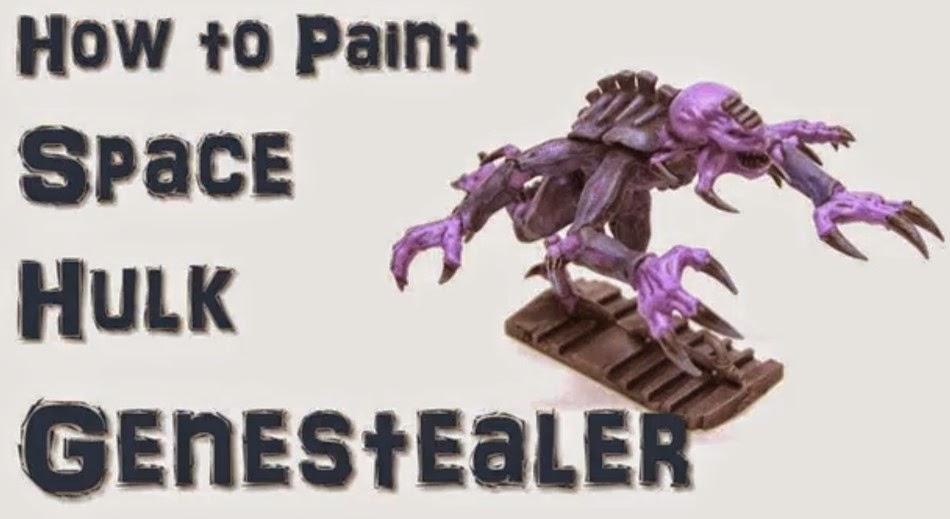 Cómo pintar rápidamente Genestealers