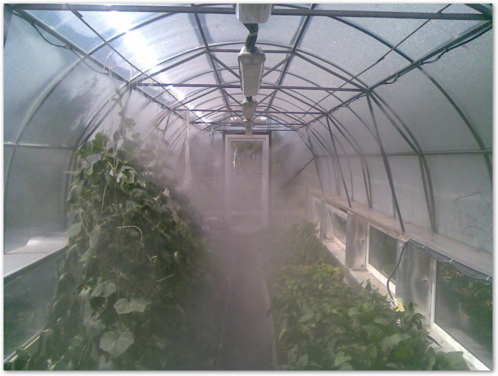Как сделать систему туманообразования своими руками 45