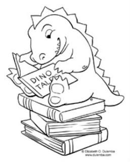 Dulemba Reading Monster Illustration