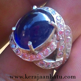 NATURAL BLUE SAPPHIRE FOR LADIES BERMEMO ACC KODE KB228