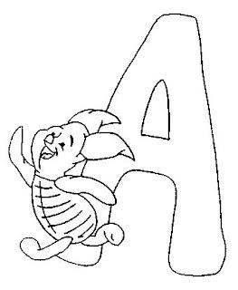 alfabeto ursinho puff