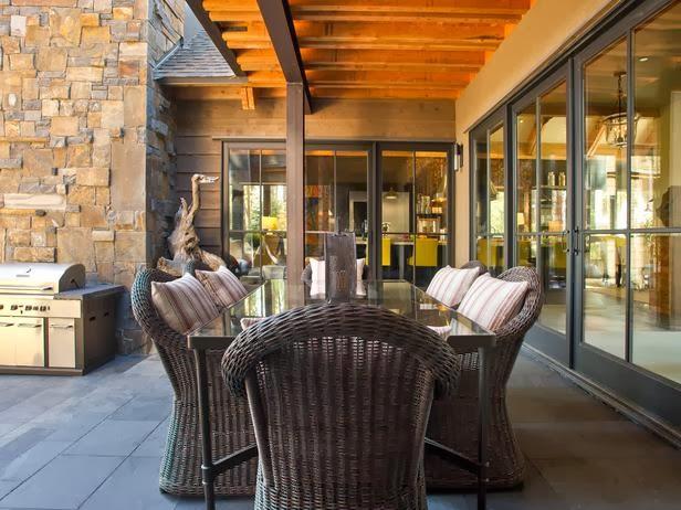 HGTV Dream Home 2014 Outdoor Kitchen Pictures