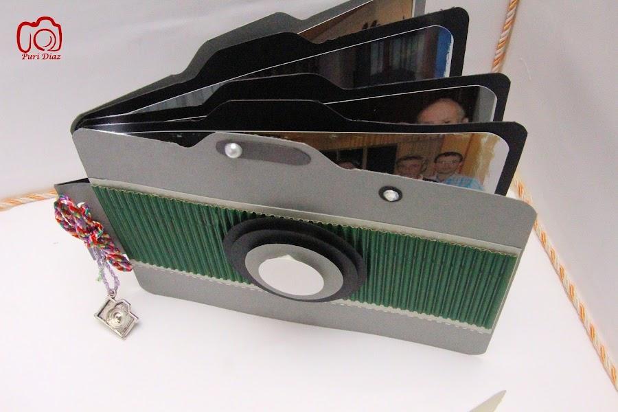 Camara de fotos en carton - Manualidades album de fotos ...