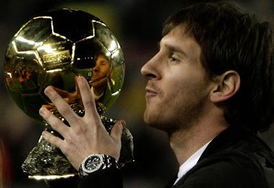 Messi es el favorito entre los 'Balones de Oro'