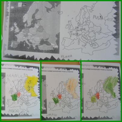 mapa europa paises. mapa de europa para colorear.
