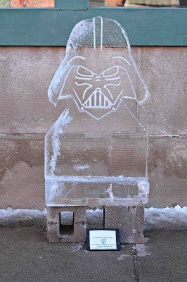 Ice Carving Darth Vader
