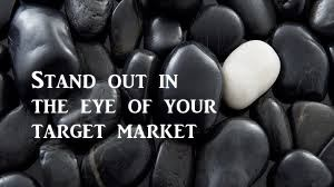 Be different for your target market, different colored stones