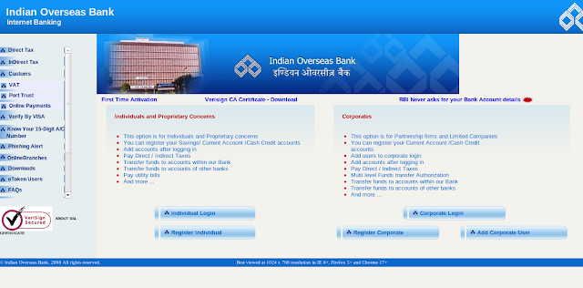 Indian Overseas Banking IOB