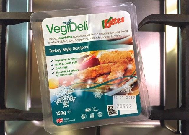 VBites Turkey Style Goujons. Vegan