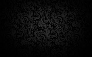 Dark Flourish HD Desktop Wallpaper