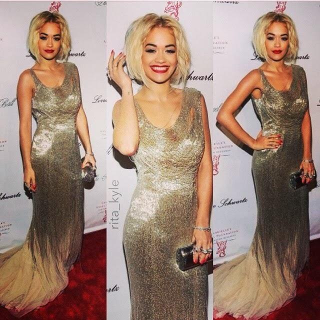 Rita Ora ne Nju Jork ne nje mbremje gala humanitare