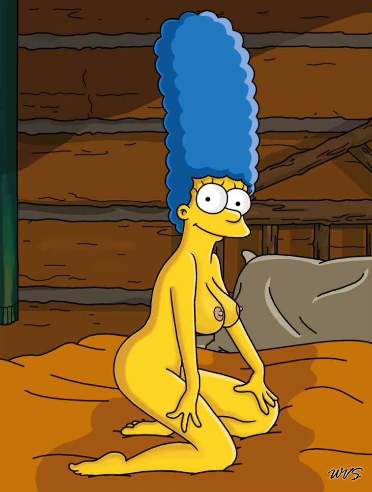 Marge Simpson The Simpsons Log Cabon Bed