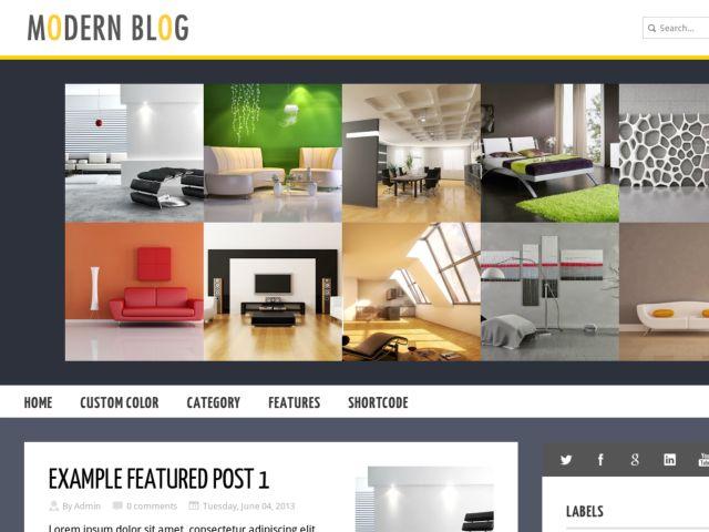 ModernBlog Blogger Template