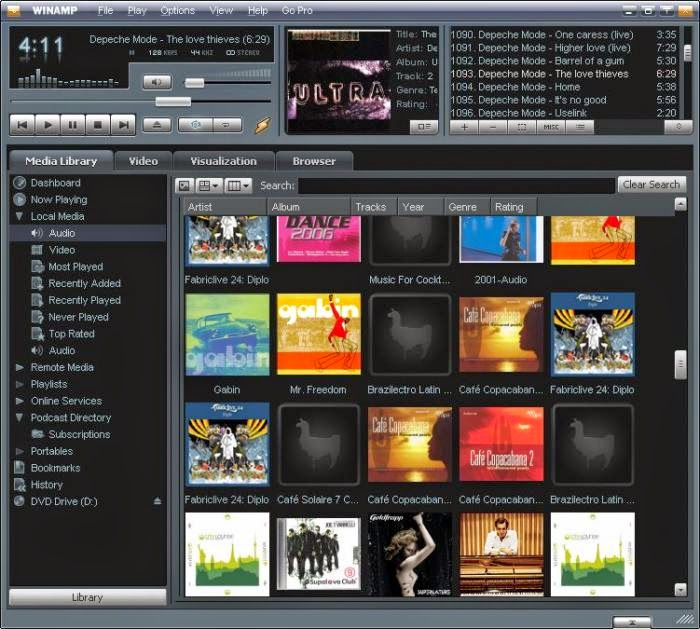 QuickTime Alternative - Winamp