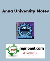 anna university Biomedical notes - 3rd 5th 7th Semester Biomedical Notes Lecture Notes Subject Notes