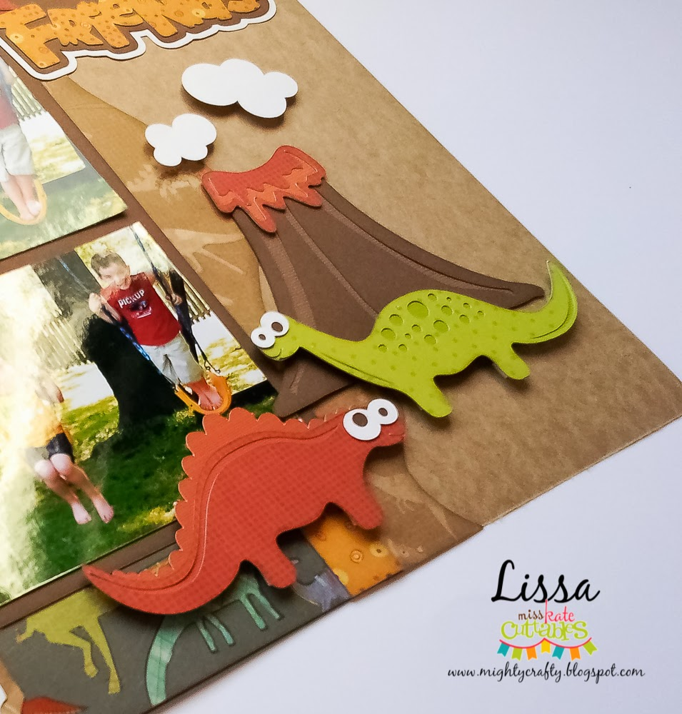 Ferocious Friends for Miss Kate Cuttables by Lissa Mitchell