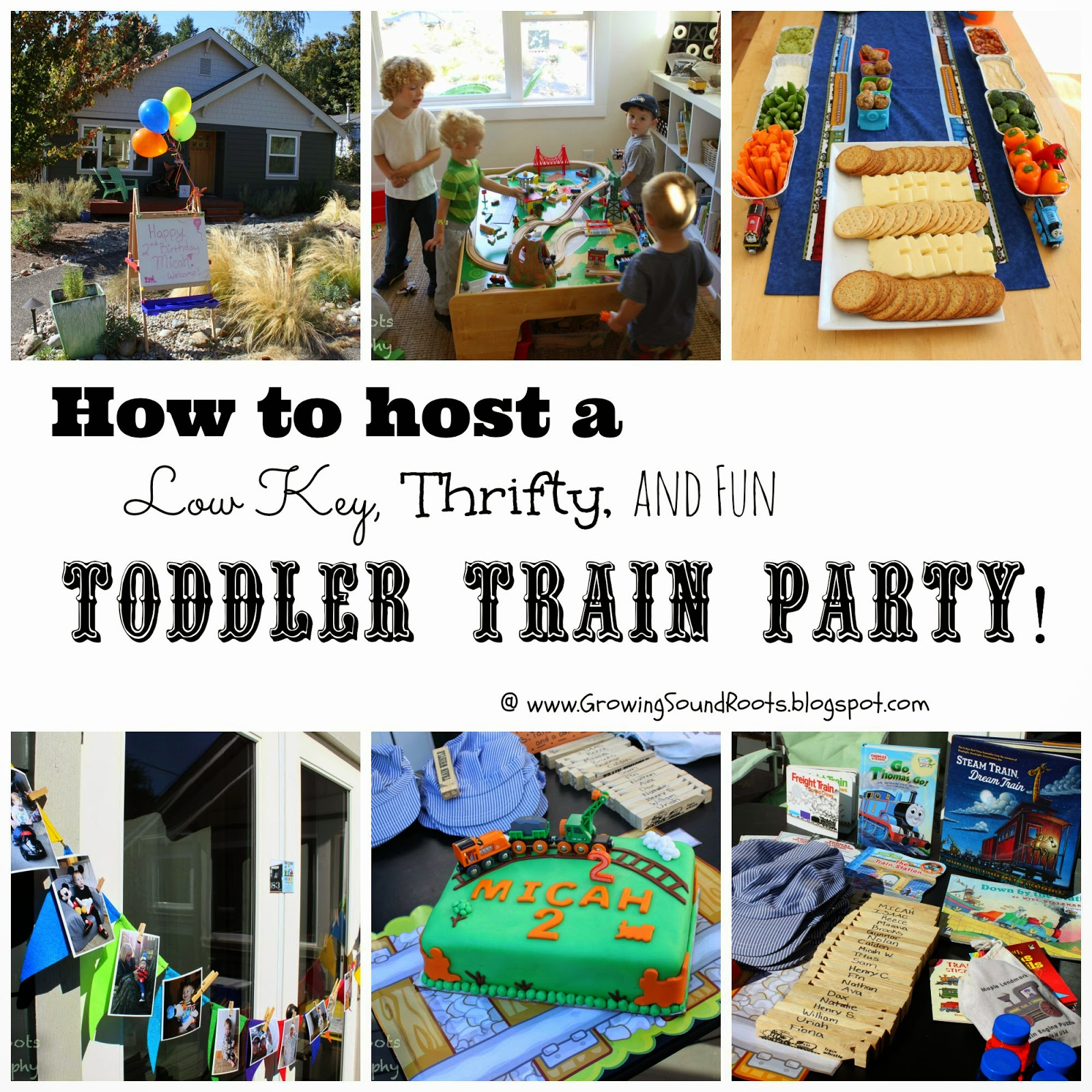 Hosting a Low Key, Thrifty, and Fun Toddler Birthday Party | Growing ...