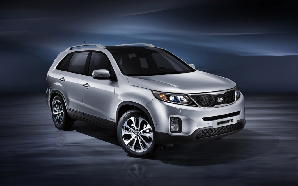 The Green Light  LA Auto Show  2014 Kia Sorento