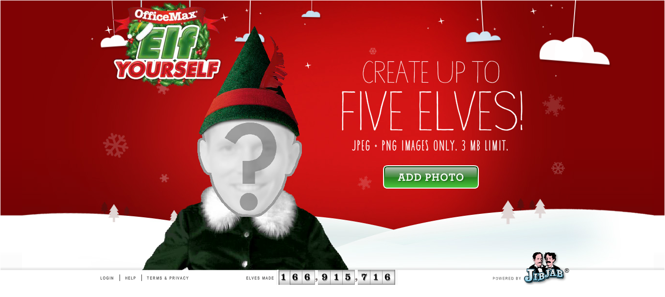 how to use elf yourself