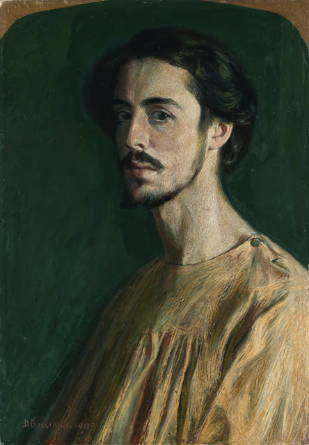 Domenico Baccarini, Portraits of Painters, Self Portraits