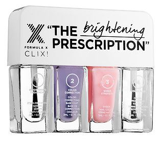 Formula X The Prescription - hydrating, strengthening and brightening sets with four easy steps!