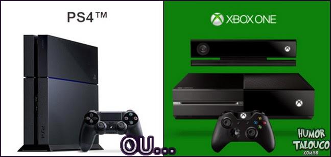 Ganhar um PS4 grátis ou um Xbox One ?