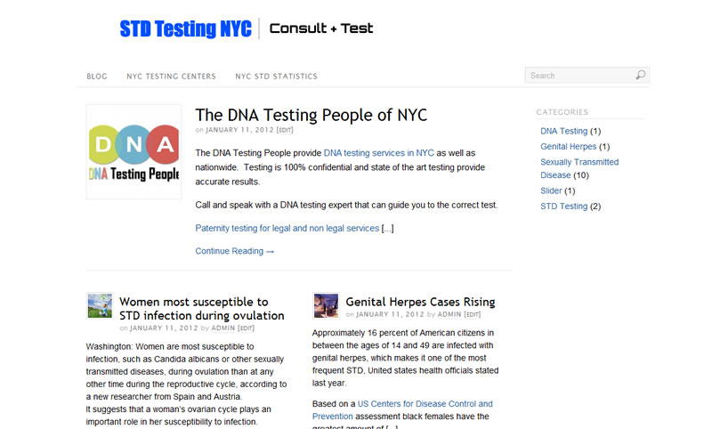 Std testing brooklyn new york