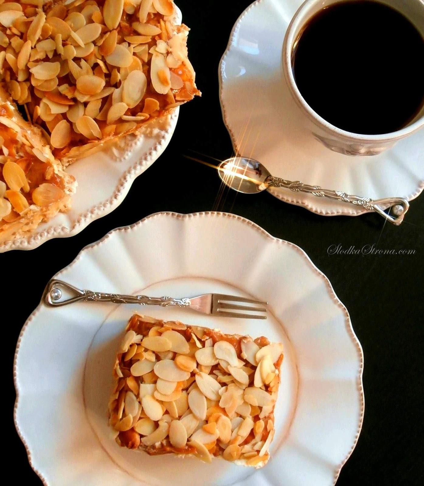 """Ciasto """"Krówka"""" - Bez Pieczenia"""