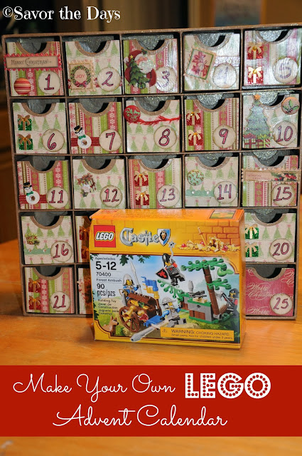 Make Your Own LEGO Advent Calendar