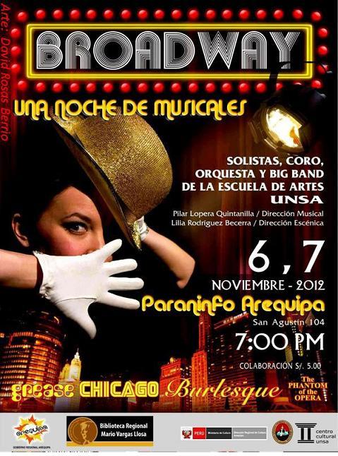 Broadway en Arequipa (6,7 nov)