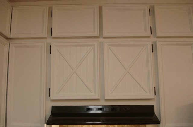 Don 39 T Disturb This Groove Kitchen Cabinets Updated With Moulding