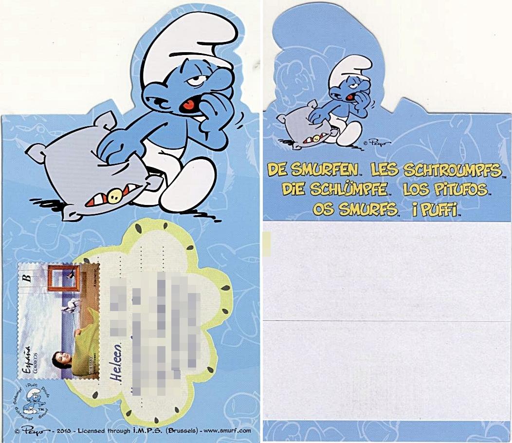 Mail adventures le schtroumpf paresseux - Schtroumpf paresseux ...
