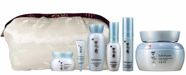Sulwhasoo Gift Sets, Holiday Moments, sulwhasoo, skincare, korea skincare, Sulwhasoo Hydro aid Moisturizing Lifting Cream Set