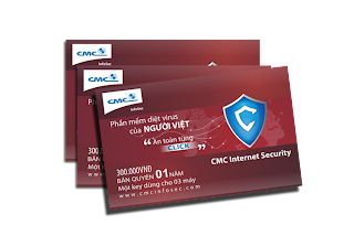 CMC Internet Security | CMC Internet Security 12 thang 1 key 3 may