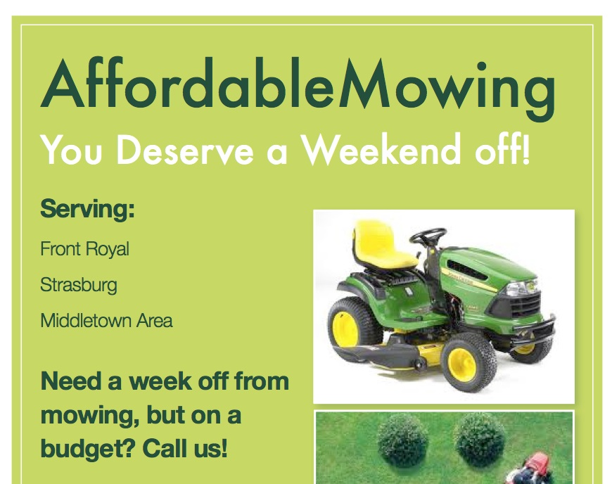 Lawn Mowing Advertising Flyers Idealstalist
